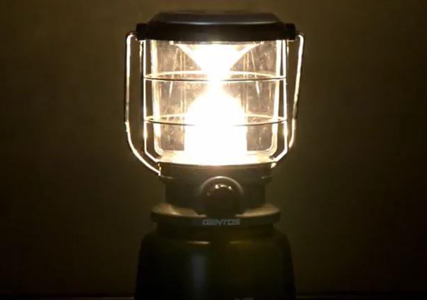LEDランタン明るさ最強ジェントス
